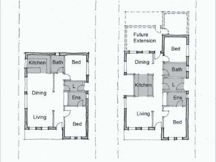 Small rental house plans affordable small house design for Rental property floor plans