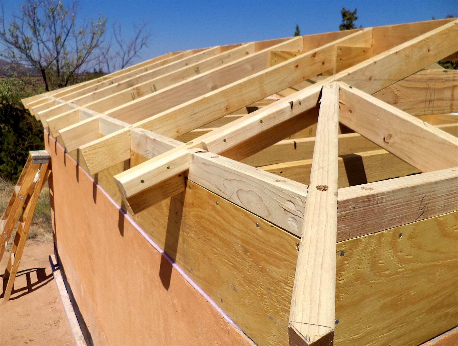 House Roof Framing Roof Framing Components