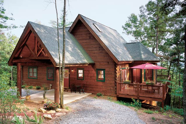 Log Cabin Style Home Luxury Log Cabin Homes