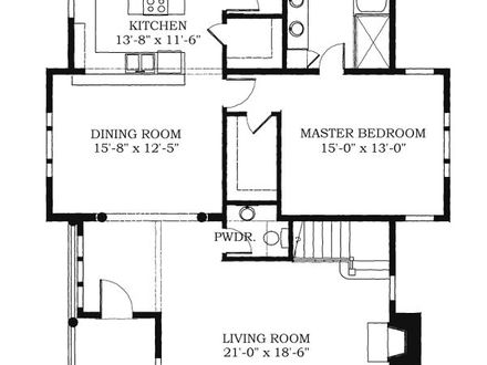 Historical southern house floor plans historic house plans for Historic southern home plans