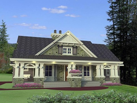 Mediterranean Style Homes Home Style Craftsman House Plans