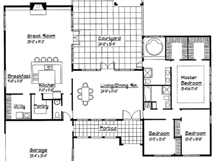 in addition fdf     ee d d  bungalow house plans with garage bungalow house plans with loft as well bedroom cape cod house plans besides small one story house floor plans together with . on contemporary single floor house designs