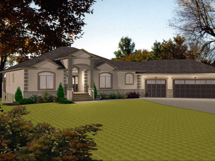 House Plans with Angled Garage Ranch with Angled Garage House