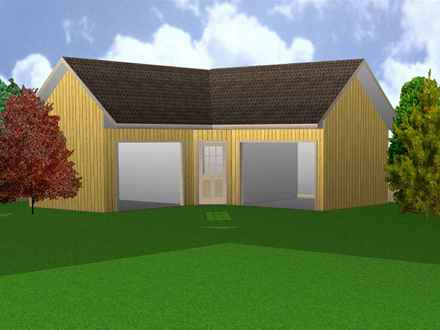 L shaped house plans l shaped ranch house plans house for Barn shaped house plans