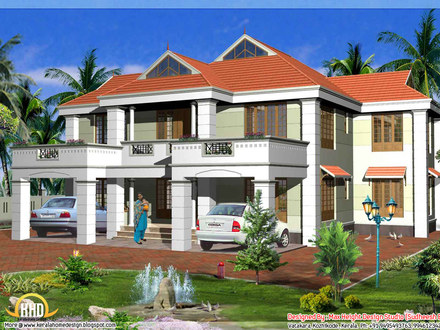 Latest House Design in Philippines Kerala Model House Design