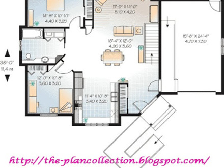 Custom dog house plans extra large dog house plans in law for Wheelchair accessible floor plans
