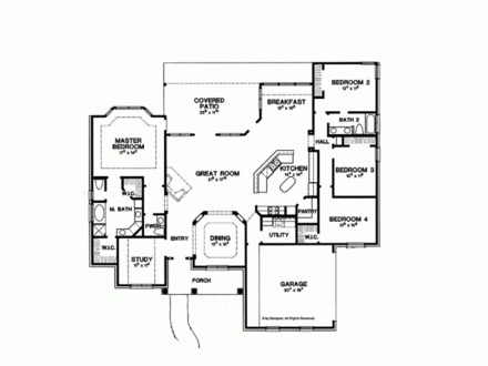 1990s House Plans Modern House Plans 2000 Sq FT, house ...