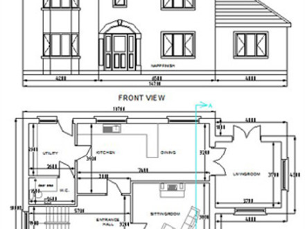 Free dwg house plans autocad house plans free download for Cad house plans