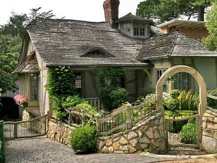 Cottage House in Carmel California Romantic Cottage