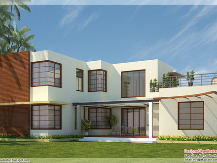 Modern Contemporary Home Design Plans Modern Contemporary Style House Plans