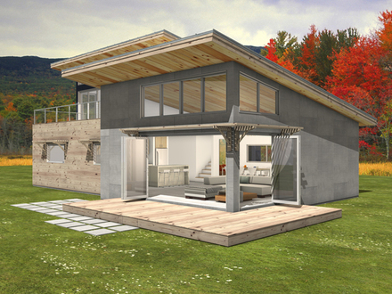Modern Shed Roof Pergolas Modern Shed Roof House Plans