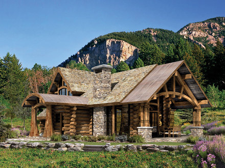 Rustic Log Cabin Home Plans Log Cabin Style Homes