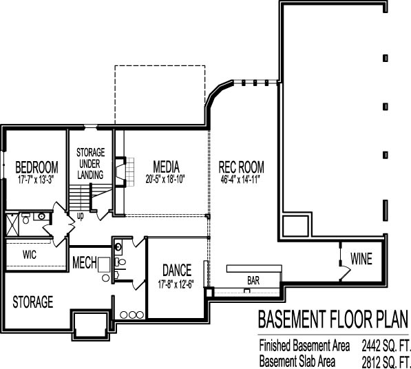 2 bedroom ranch house plans 2 bedroom house plans with for Million dollar homes floor plans
