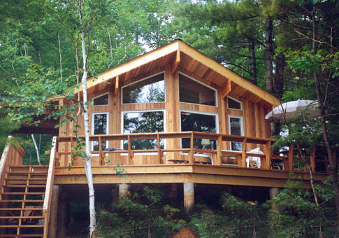 Small Post and Beam Cabins Post and Beam Cabin Plans