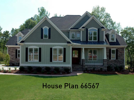 Craftsman House Plans with Porch Craftsman House Plans with Walkout Basement
