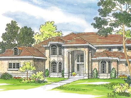 Home mediterranean house plans french country louisiana for Louisiana house plans designs