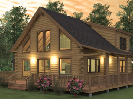 2 bedroom log cabin homes kits inside a small log cabins for 3 bedroom log cabin plans