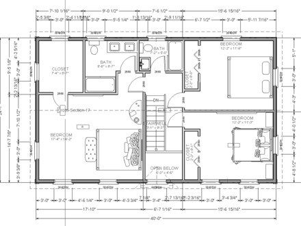 Second story house additions floor plans floor plan 2 for Second story floor plan