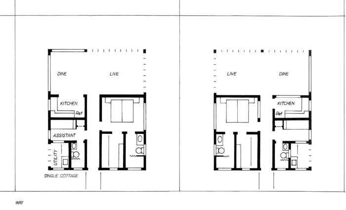 Cottage cabin bedroom 1 bedroom cottage house plans one for One bedroom cottage floor plans
