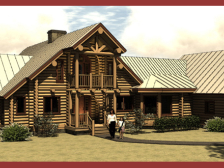 Log Cabin Style House Plans Log Cabin Mansions