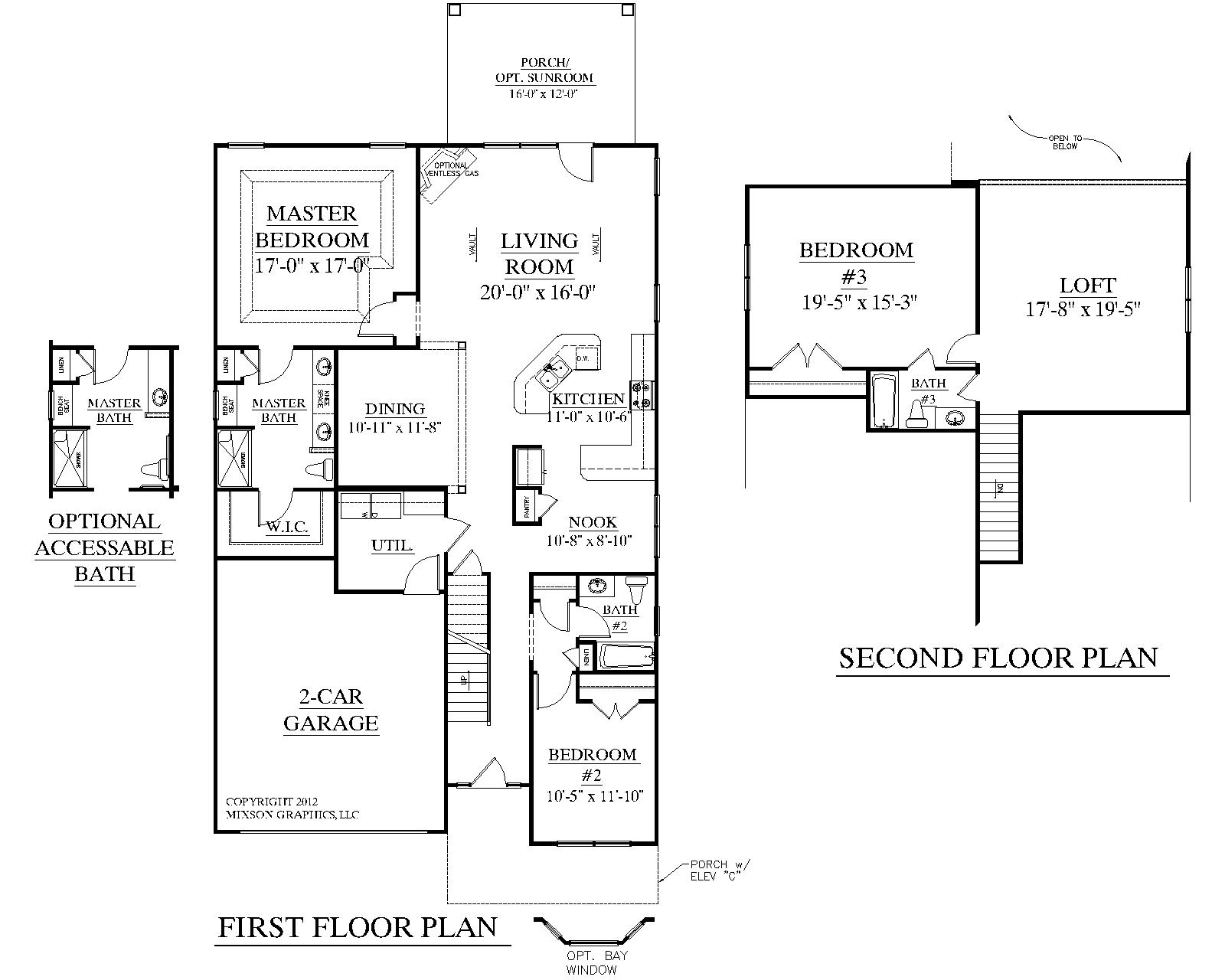 Simple 3 Bedroom House Plans 3 Bedroom House Plans with Loft