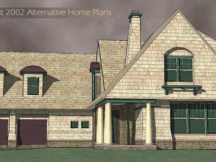 Alternative home designs country home exterior designs for Alternative house designs