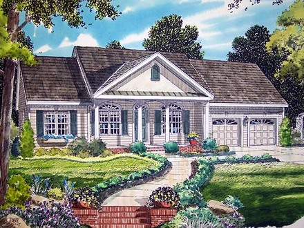 Modern small house plans small house plans southern living for Southern style ranch home plans
