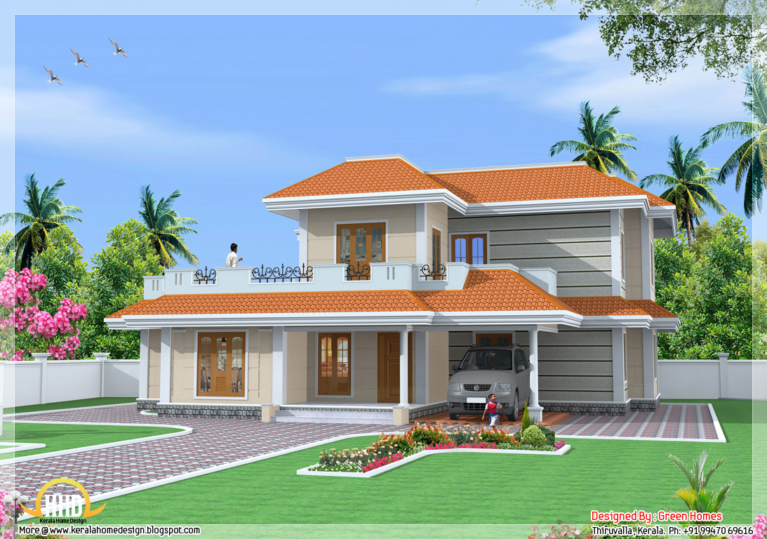 Kerala model house design kerala house photo gallery for Kerala homes photo gallery