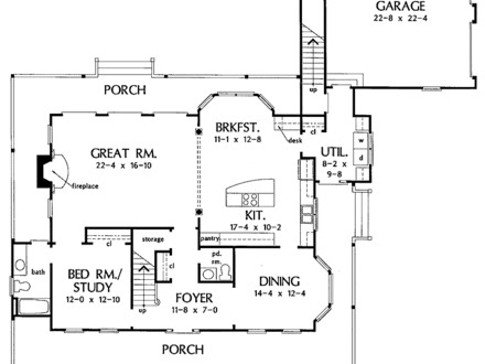 Old country farmhouse old fashioned farmhouse house plans for Old farmhouse floor plans