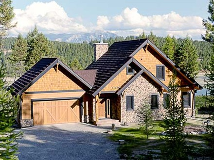 Cottage style homes craftsman style cottage house plans for Craftsman house plans canada