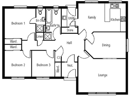 Modern Bungalow House Plans Canadian Bungalow House Plans