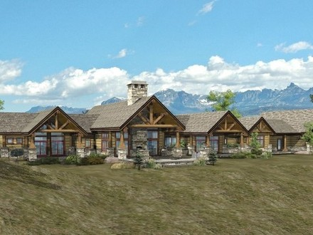 Ranch Style Log Home Designs Ranch Style Log Home Plans