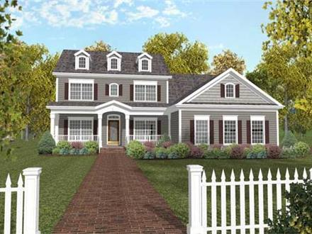 Small Colonial House Plans Old Colonial Floor Plans
