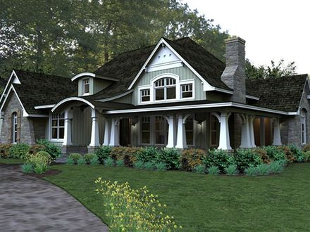 Craftsman Style House Plans for Small Homes Craftsman House Plans Ranch Style