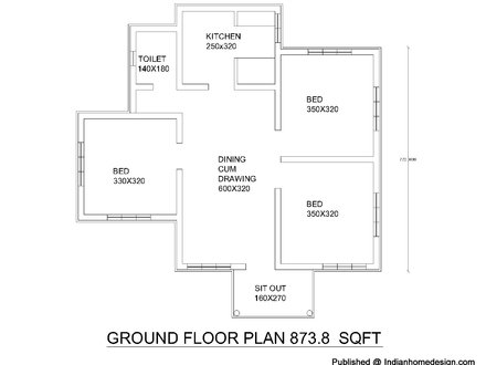 Free Architectural House Floor Plan Free Architectural Draught
