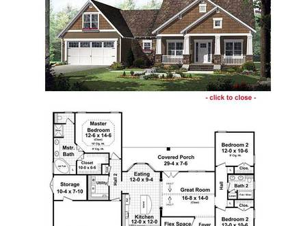 Two-Story House Floor Plans Bungalow Bungalow House Floor Plans