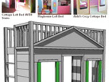 Bunk Bed with Stairs Plans Free Triple Bunk Beds