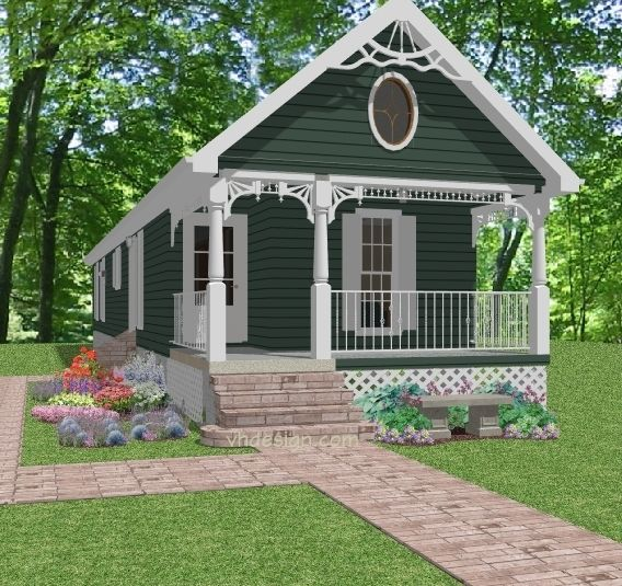 Narrow lot cottage house plans cottage plans for narrow for Cottage house plans for narrow lots
