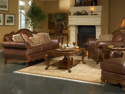 Rustic Leather Furniture Living Room Leather Living Room Furniture Ideas