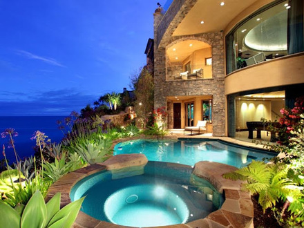 Malibu Mansions Laguna Beach Mansion