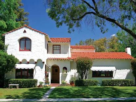Spanish Colonial Style Architecture Drawing Spanish Colonial Style Architecture Homes