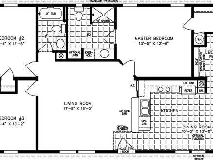 House Floor Plans Under 1000 Sq FT 4 Bedroom House Floor Plans
