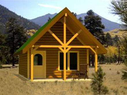 Small cabins tiny houses small cabin floor plans with loft for Sips homes