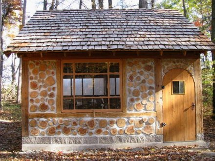 Cordwood Sheds and Cabins Cordwood Construction