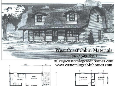 Amish Cabin Floor Plans Amish Log Cabin Packages