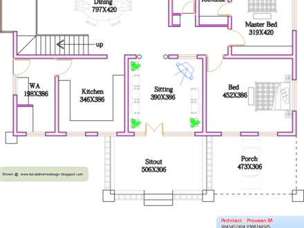 Kerala House Designs and Plans Kerala 3 Bedroom House Plans