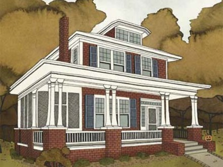 New Homes That Look Old New Old House Design