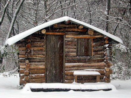 Simple Log Cabin Small Log Cabins