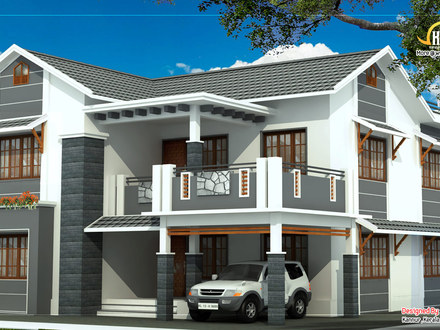 2 Story 3 Bedroom House Plans Story 3 Bedroom With