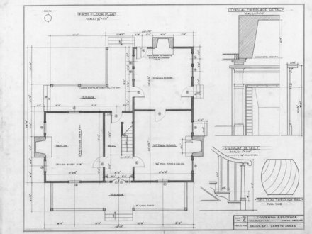 Old House Floor Plans Old 3-Story House Floor Plans